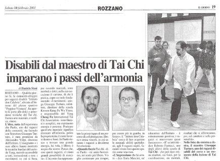 2001 - Il Giorno - Istituto Don Calabria